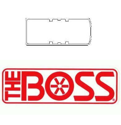 boss snow plow turn signal gasket for rt3 smart hitch 2. Black Bedroom Furniture Sets. Home Design Ideas