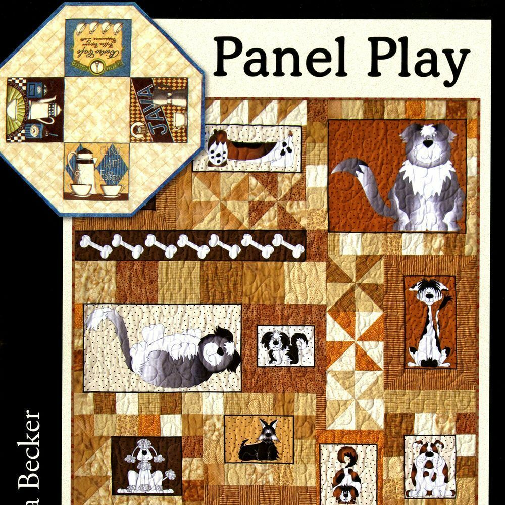 Panel Play Designs Use Quilt Panels Table Topper Wall