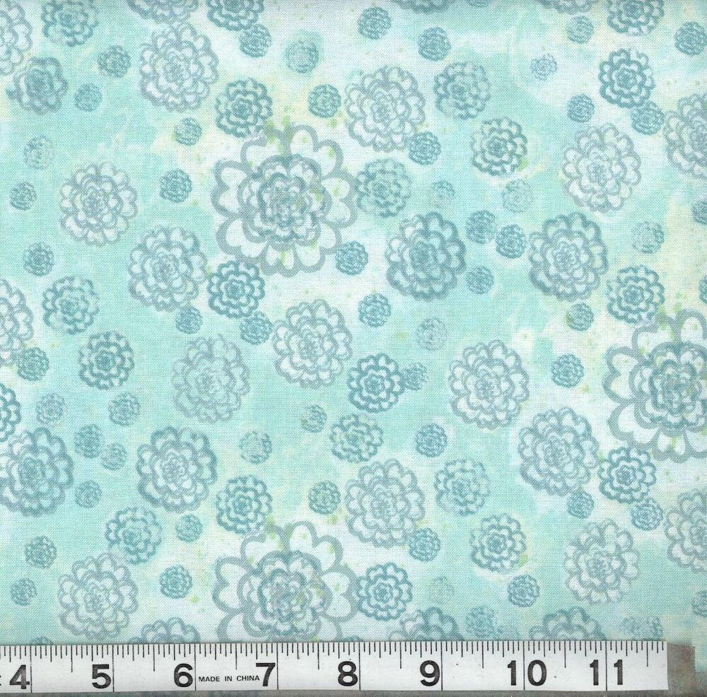 New grand peacock calico quilting fabric 100 cotton sold for Cotton quilting fabric