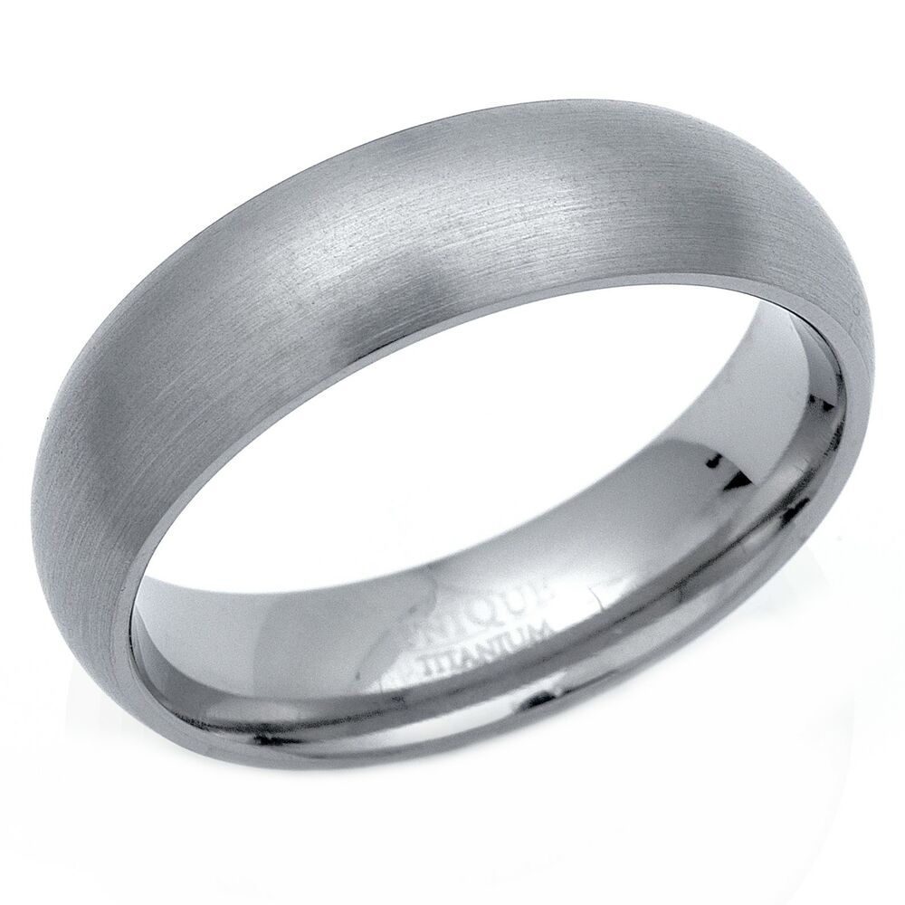 Mens 6mm Brushed Titanium Satin Court Band Wedding Ring  Ebay. S Steel Rings. Real Gold Engagement Rings. Ethereal Wedding Rings. Intricate Band Wedding Rings. Human Eye Rings. Large Stone Wedding Rings. Cute Rings. Red Rose Rings