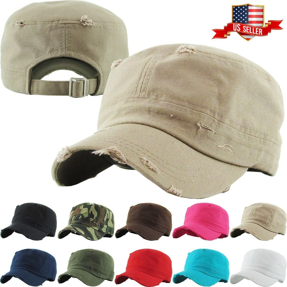 14797496733 Details about Army Cadet Military Patrol Castro Cap Hat Men Women Golf  Driving Summer Baseball