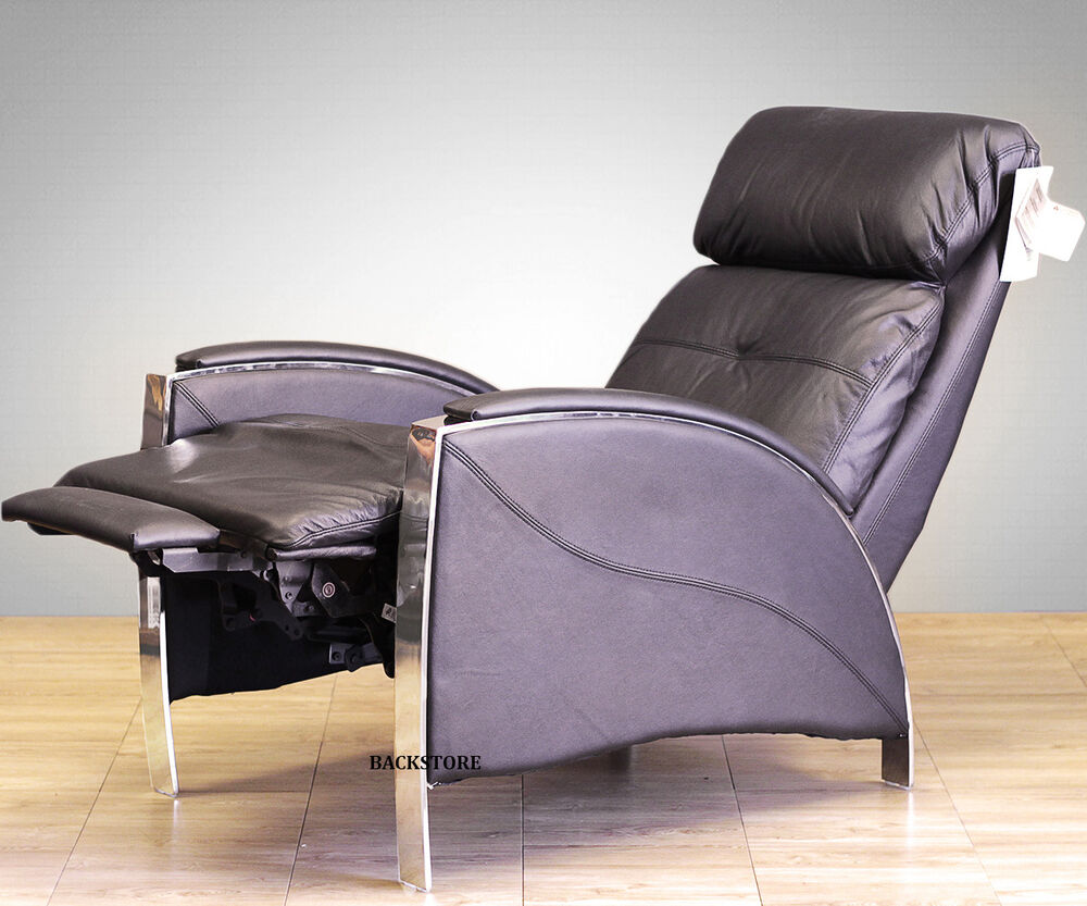 Barcalounger Horizon Ii Genuine Leather Recliner Lounger
