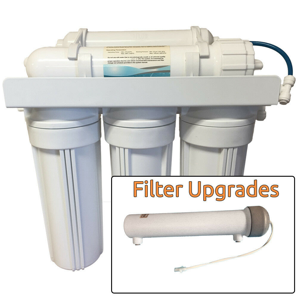 new 6 stage with uv reverse osmosis water filter ro ebay. Black Bedroom Furniture Sets. Home Design Ideas