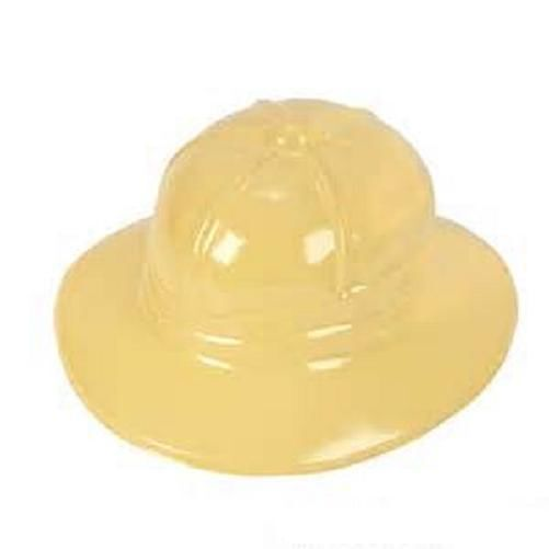 142cfcb2c57d4 Details about 24 CHILDRENS PLASTIC SAFARI HATS ZOO JUNGLE -YELLOW - NEW!!!  Free Shipping
