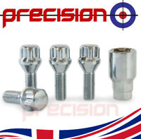 Locking Alloy Wheel Nuts Bolts Renault Clio All Models