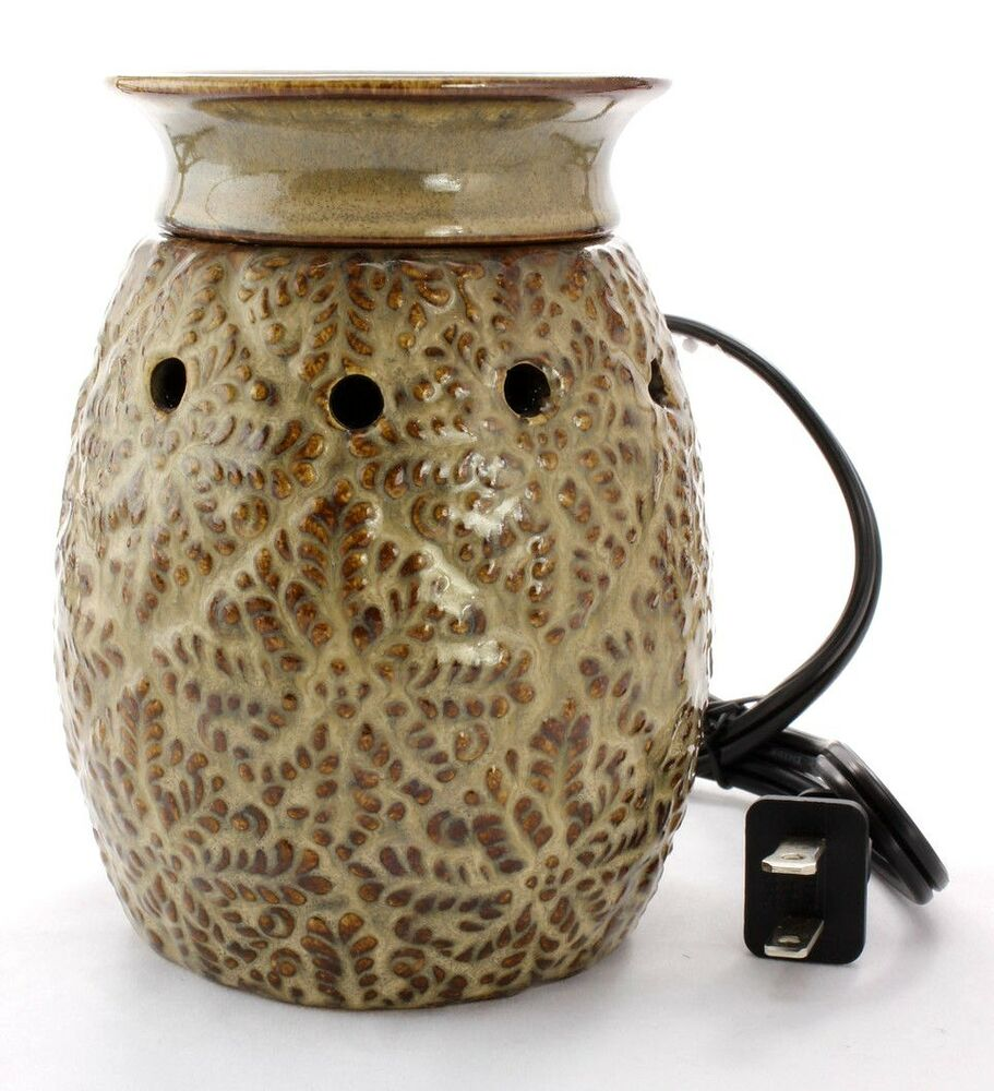Electric Fragrance Warmers ~ Boulevard candle lavender fern electric fragrance warmer