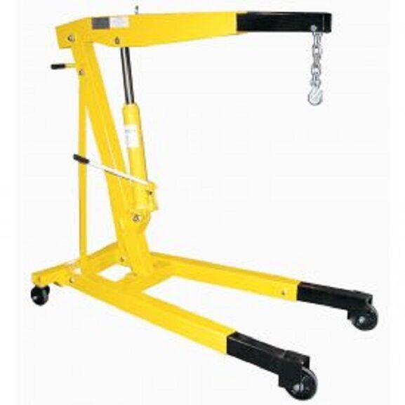 Portable Hydraulic Jib Crane : New vestil floor crane with telescopic boom lb