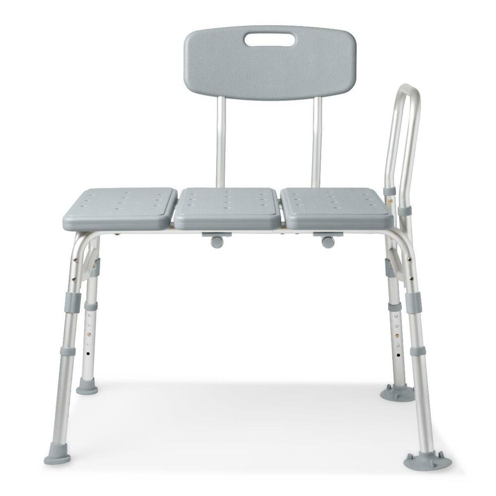 Medline transfer bench shower bench ebay Bath bench