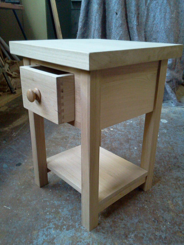 Handmade Solid Oak Butchers Block Kitchen Island Trolley Side Table Ebay