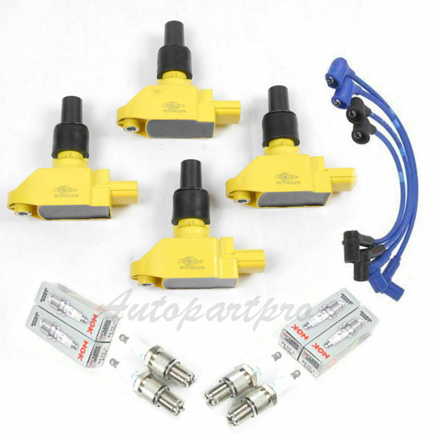 ic239 for 04 09 mazda rx 8 ignition coil ngk spark wire set 4 b2875y 4 ebay