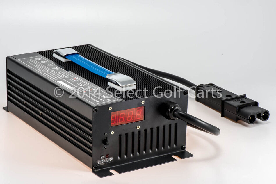 New 48v yamaha golf cart battery charger g19 g22 48v 15a for Yamaha golf cart chargers
