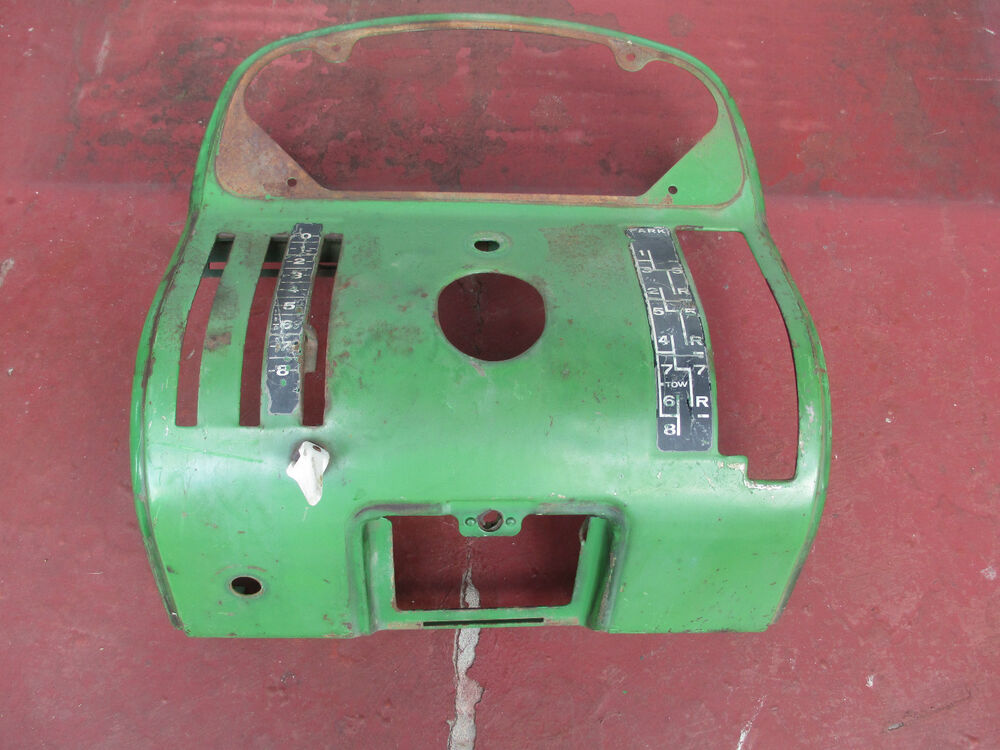 1010 John Deere Dash Light : John deere dash panel gas tractor ebay