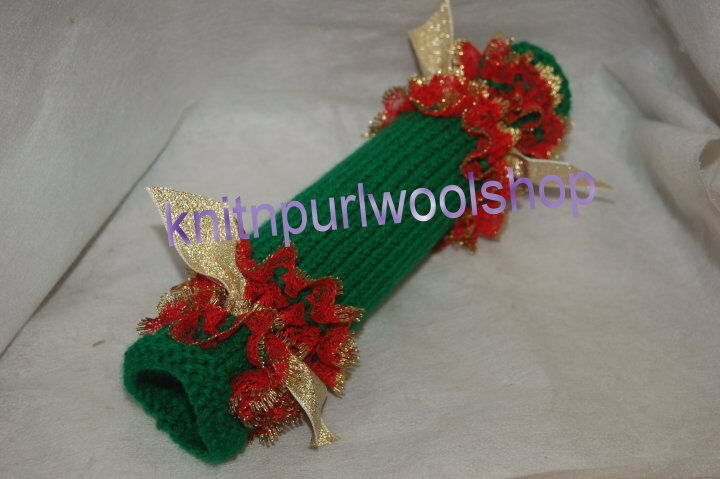 Knit In Lace Christmas Cracker Knitting Pattern Not