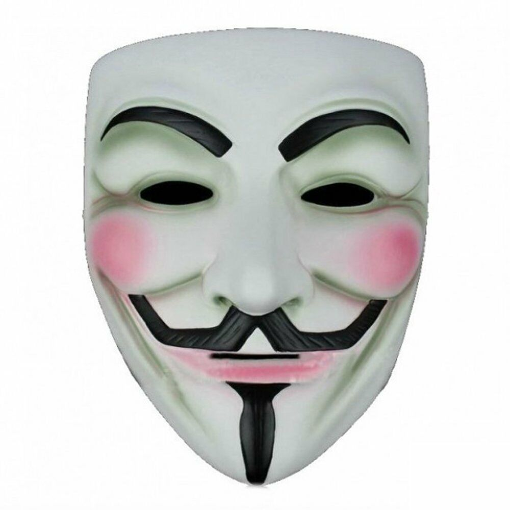 Anonymous V For Vendetta Mask Halloween Face Party Mask V