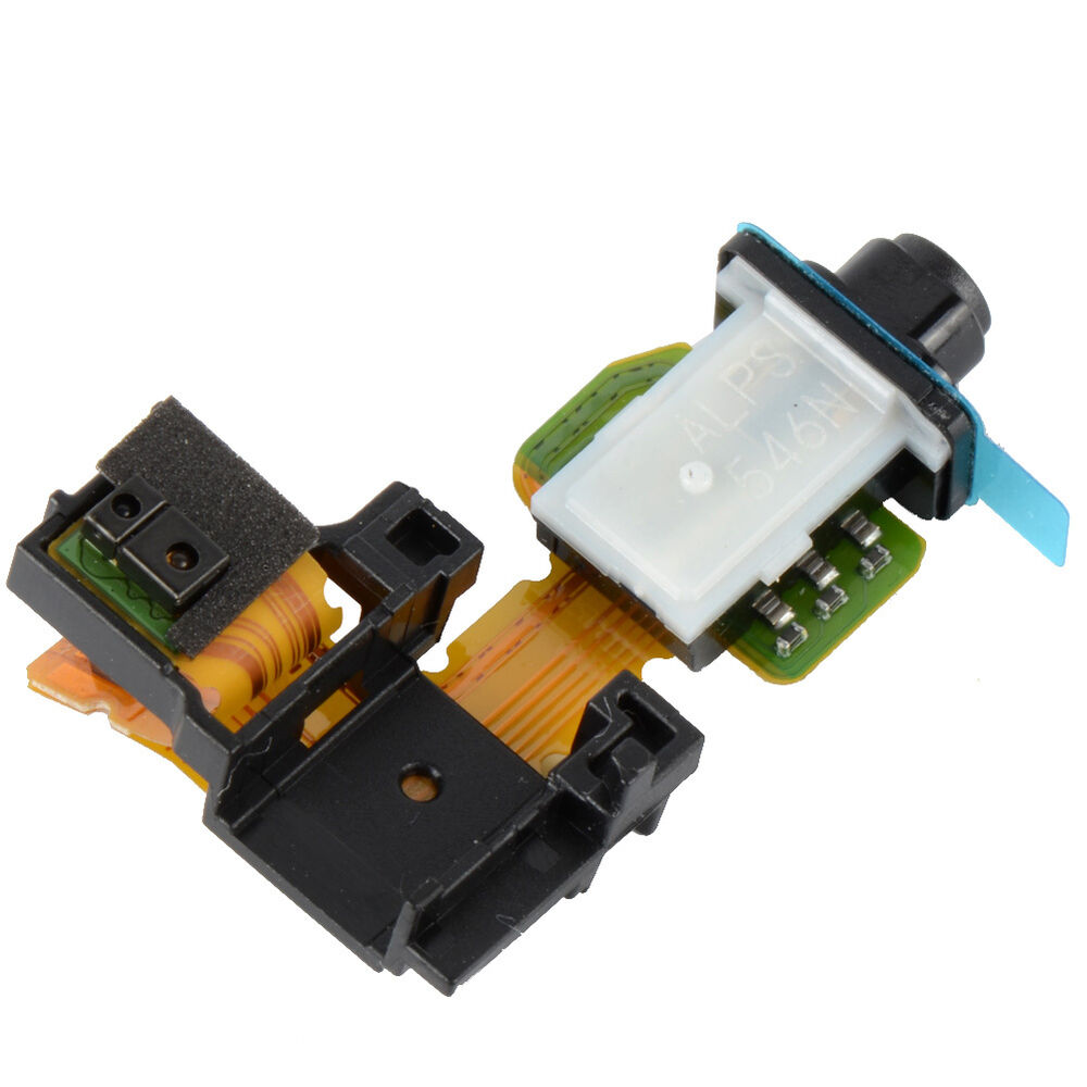 hot sale headphone audio jack headset flex cable for sony xperia z2 d6502 gocg ebay. Black Bedroom Furniture Sets. Home Design Ideas