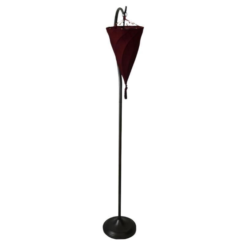 Contemporary modern art deco spiral shade floor lamp lamps for Modern contemporary floor lamp