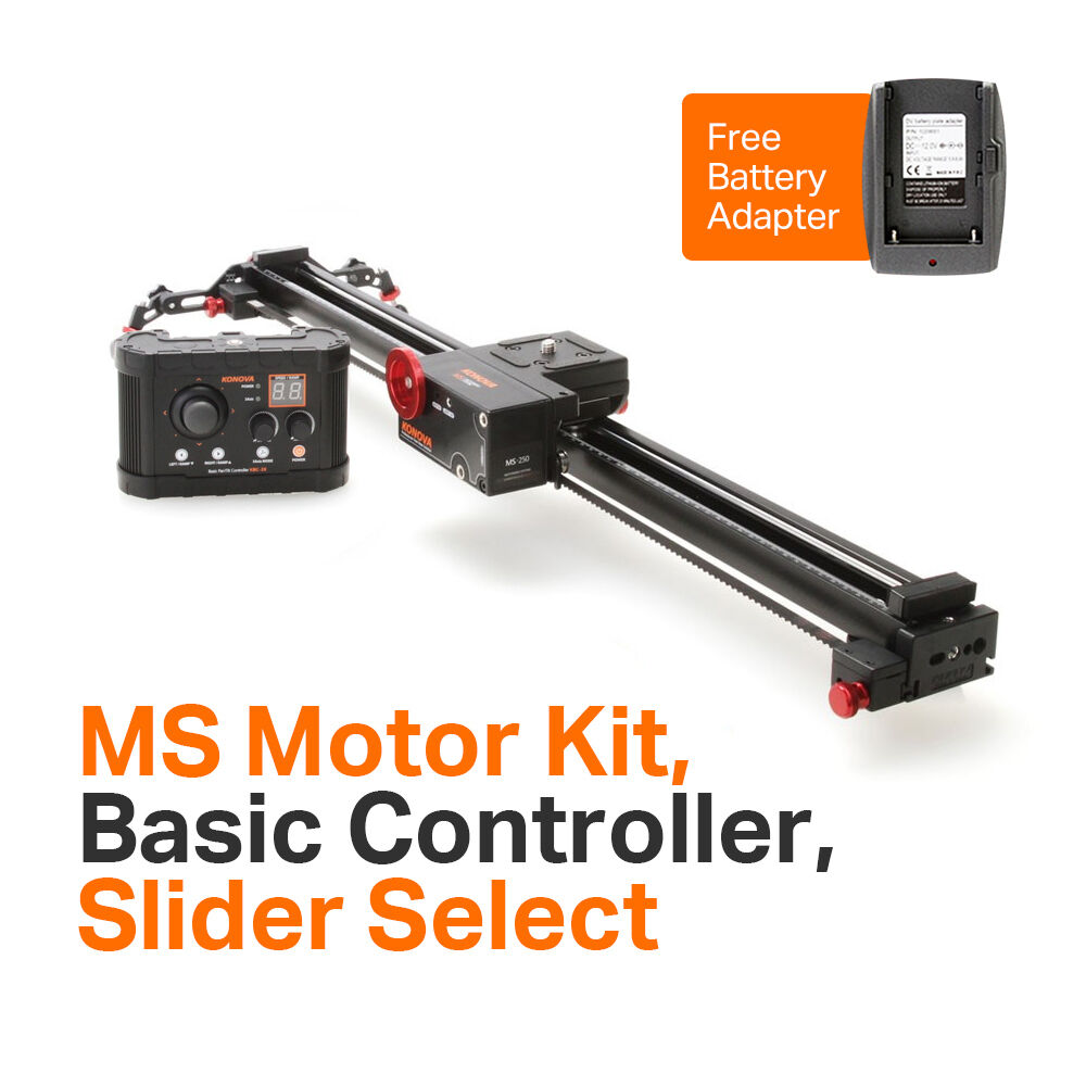 Konova msb bundle k2 camera slider 80cm 31 5 ms motor Motorized video slider