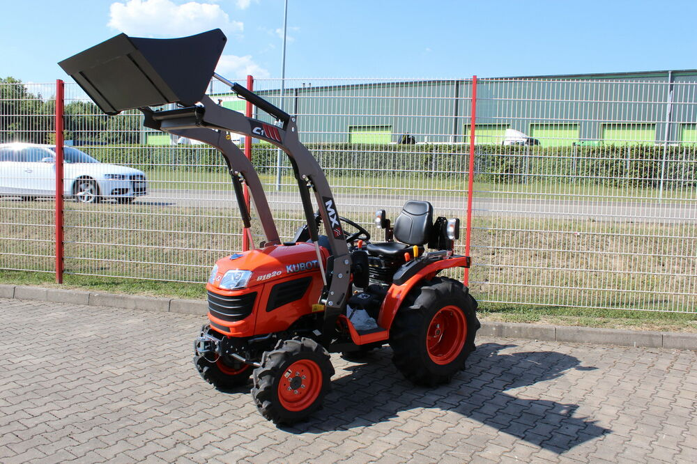 kubota b1620 traktor kleintraktor mit frontlader c1 ebay. Black Bedroom Furniture Sets. Home Design Ideas