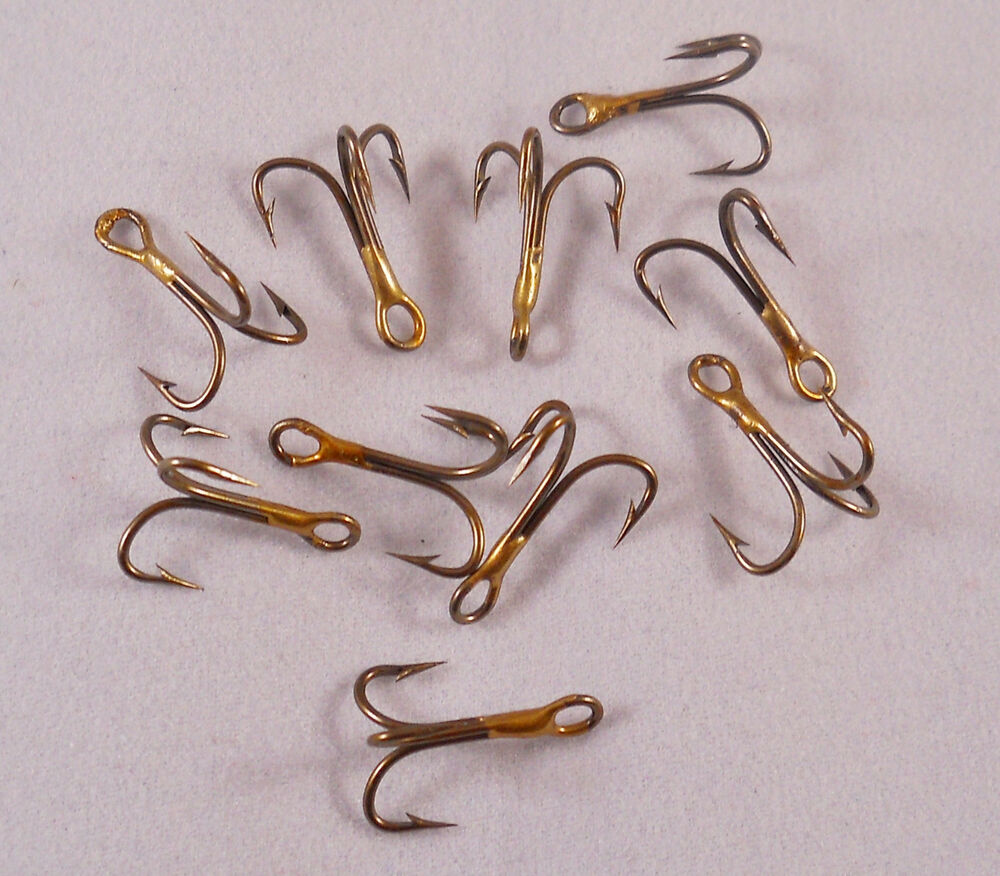 Bass trout fishing hook 1 pack of 10 dickson size 10 for Best hooks for bass fishing