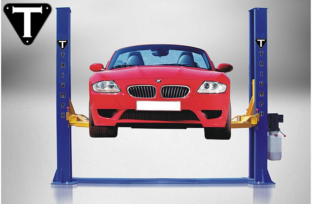 Two Post Auto Lift 9 000 Lb Capacity Car Vehicle Lift Ebay