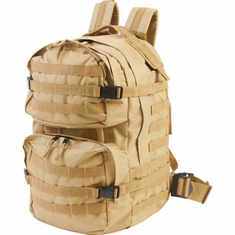 Heavy-Duty Outdoor Tactical Backpack, Mens Desert Sand ...