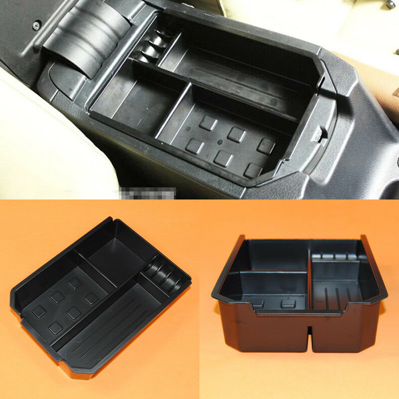 New Upgrade Armrest Center Console Storage Box Tray For
