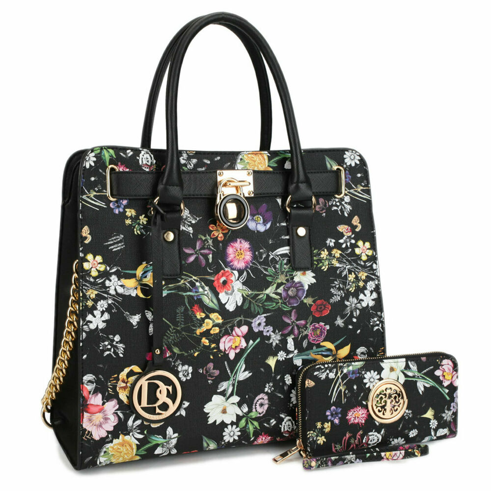 Dasein Womens Handbags Faux Leather Business Briefcase ...