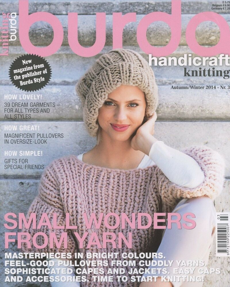 Burda style knitting magazine 3 autumnwinter 2014 small wonders burda style knitting magazine 3 autumnwinter 2014 small wonders from yarn ebay bankloansurffo Images