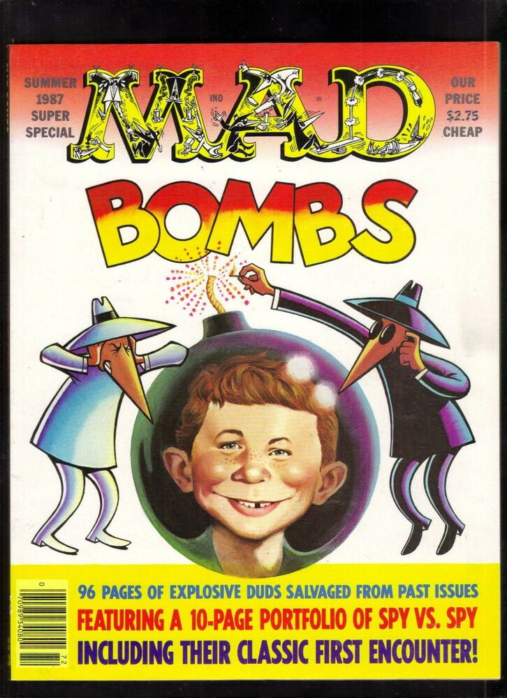 mad magazine super special 59 nm bombs away summer 1987