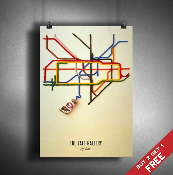 London Tube Map Wall Poster