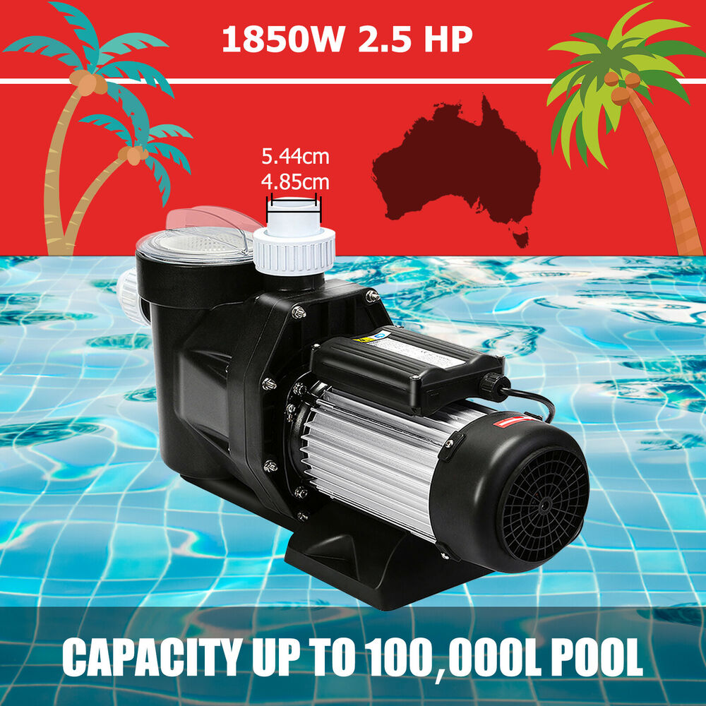 2 5hp Pool Pump Motor Above Ground Swimming Pool Filter Hi