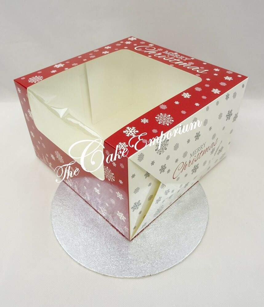 Christmas Yule Log Boxes Amp Boards Cake Boxes 8 Quot Amp Boards