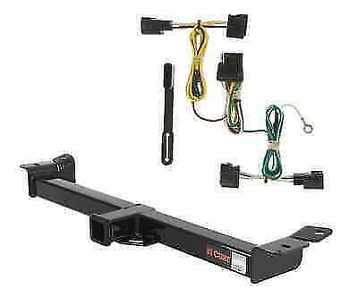 curt class 3 trailer hitch & wiring for jeep wrangler | ebay jeep wrangler trailer hitch wiring jeep grand cherokee trailer hitch wiring