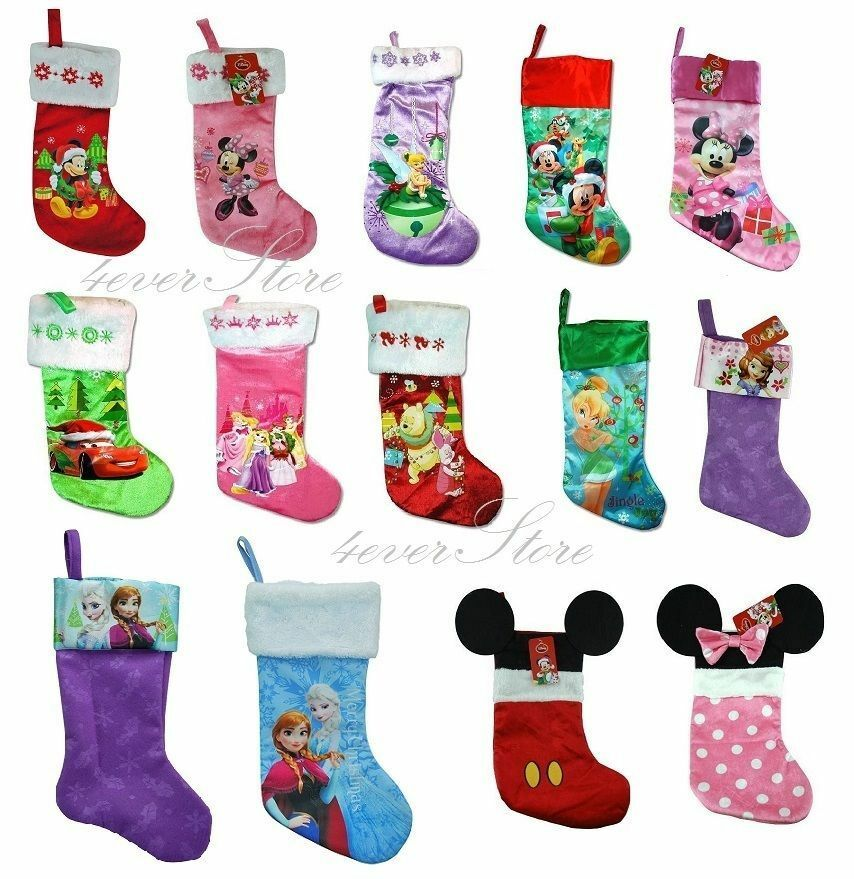 Disney christmas stockings collection frozen mickey