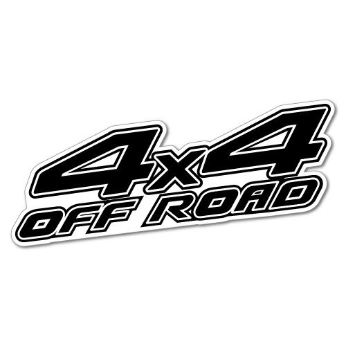 4x4 off road sticker decal 4x4 4wd funny ute 5489k ebay Getting stickers off glass