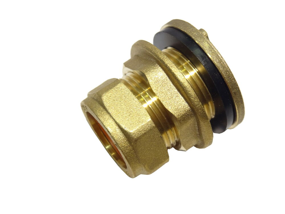 Mm compression tank connector brass plumbing fittting