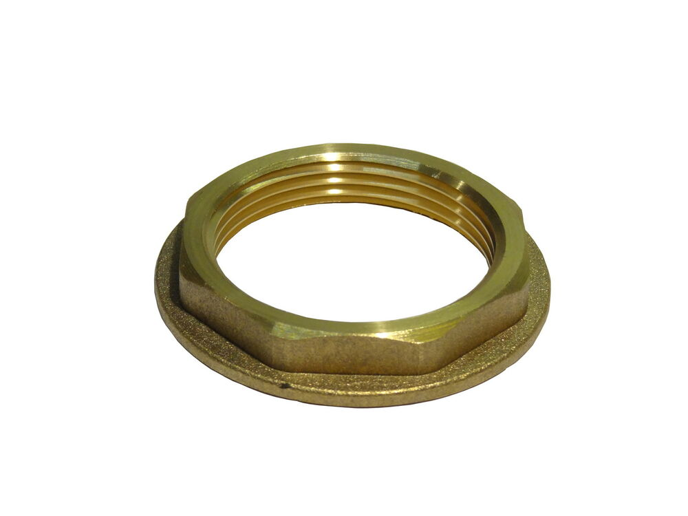 1 1 2 Inch Bsp Brass Flanged Back Nut Kitchen Sink Waste