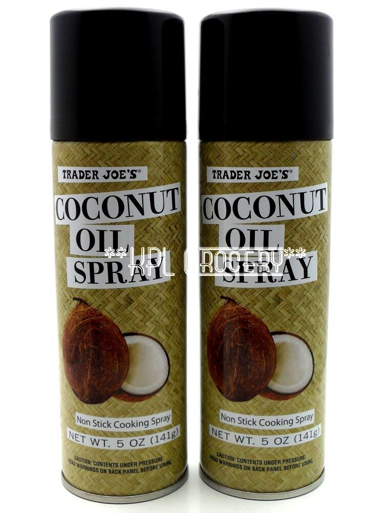 Premise Indicator Words: Trader Joe's Organic Coconut Oil Spray (x2 Cans) 10 OZ