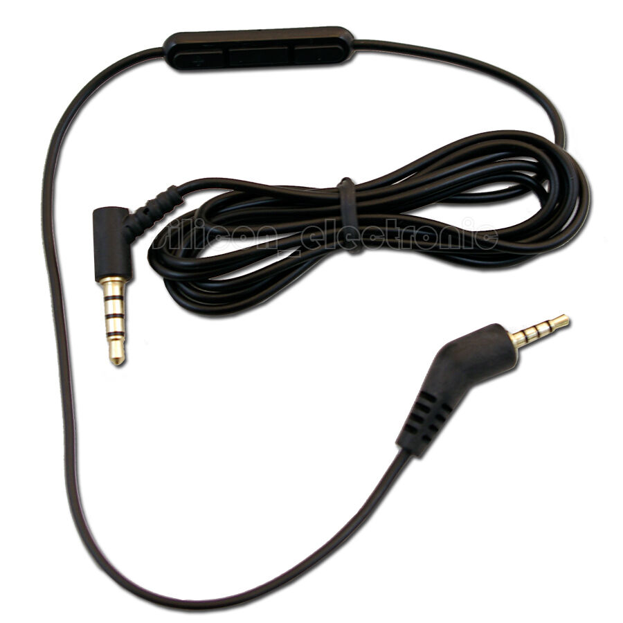 Parts For Microphone Cable : New replacement inline remote mic microphone cable for