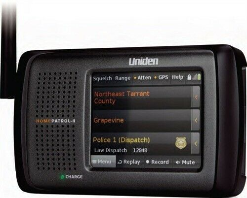 Uniden HomePatrol-II Digital Police Scanner Self ...