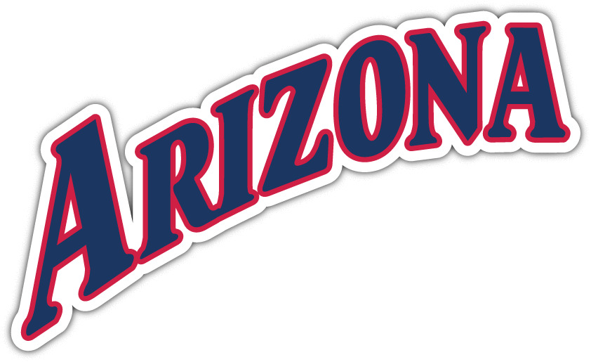 Arizona Wildcats Ncaa Vinyl Car Bumper Window Sticker