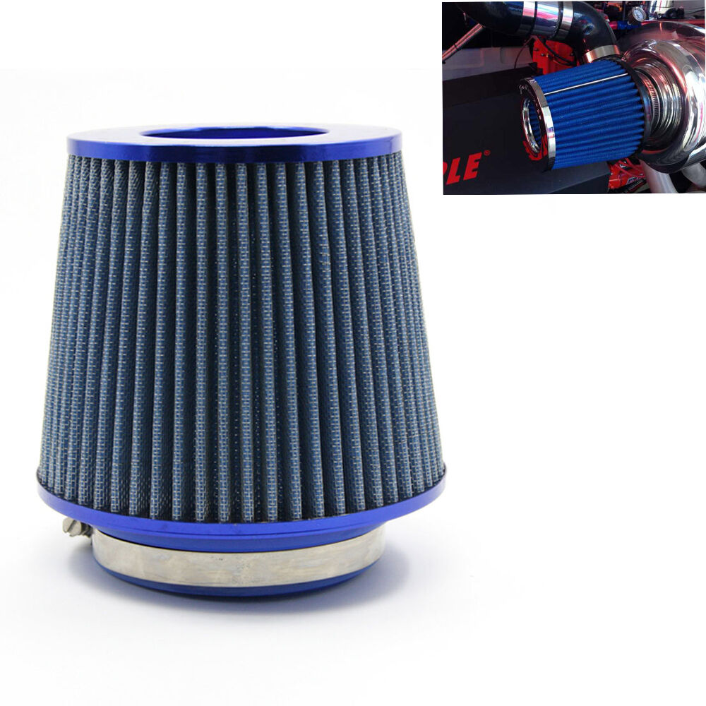 3 Quot 76 88 100mm Universal Car Air Filter Induction Cold Air