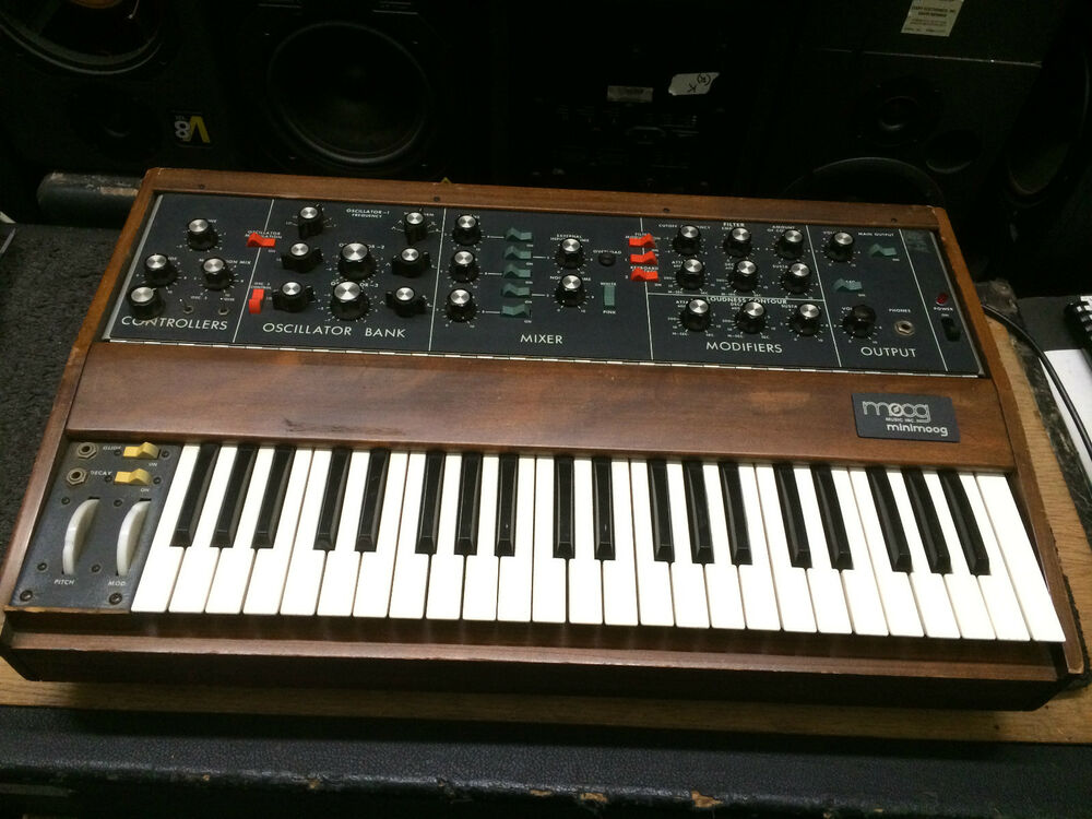 original vintage moog minimoog model d new osc analog synth cv mod    armens  40232320170