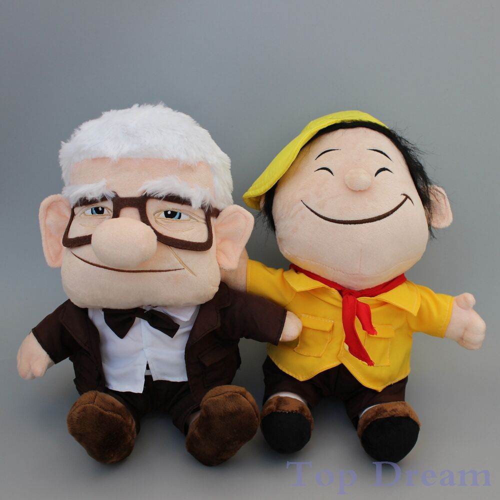 Lovee Doll Amp Toy Co : Disney pixar up movie carl grandpa boy russell plush