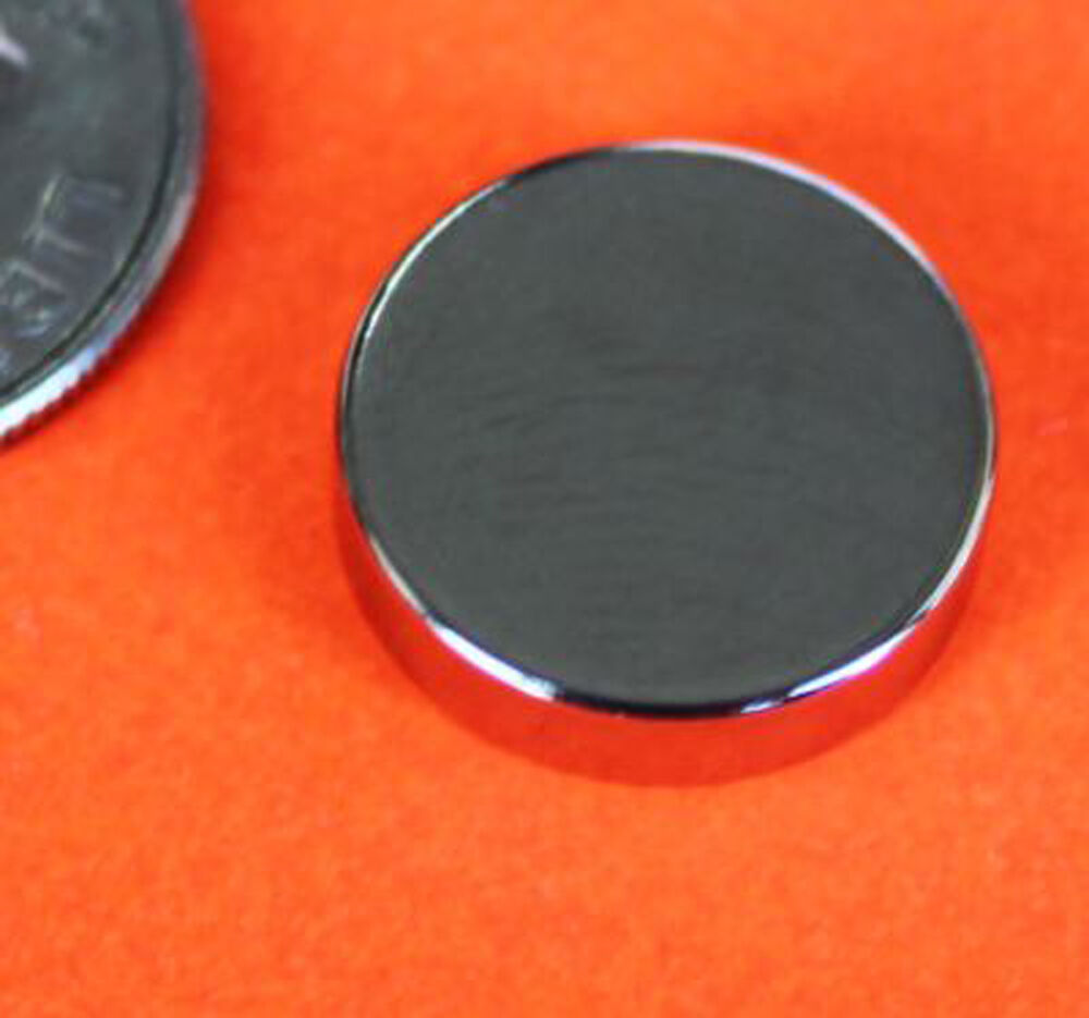 20 strong 1 2x1 8 inch grade n42 rare earth neodymium disc photo craft magnet ebay. Black Bedroom Furniture Sets. Home Design Ideas