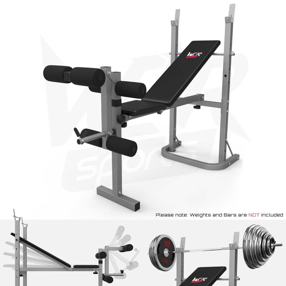 Folding Weight Bench Amp Weight Rack Incline Decline Home