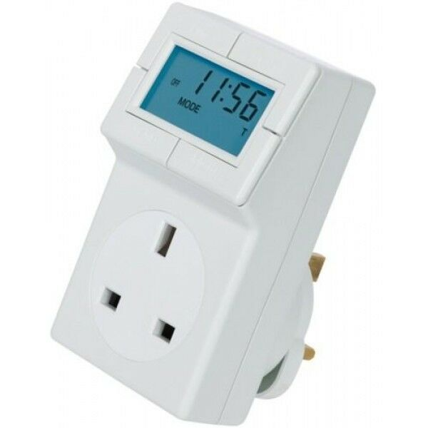 Timeguard Et05 Trt05 Plug In Electronic Thermostat