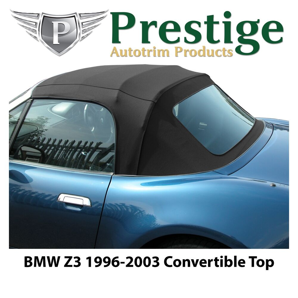 Bmw Z3 Convertible Top Soft Top Tops Roof Black Mohair