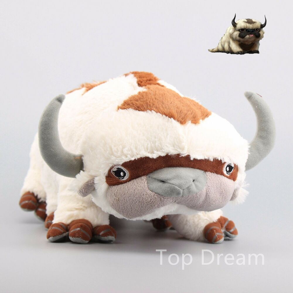 The Last Airbender Movie Appa: The Last Airbender Plush Avatar APPA Toy Soft Stuffed