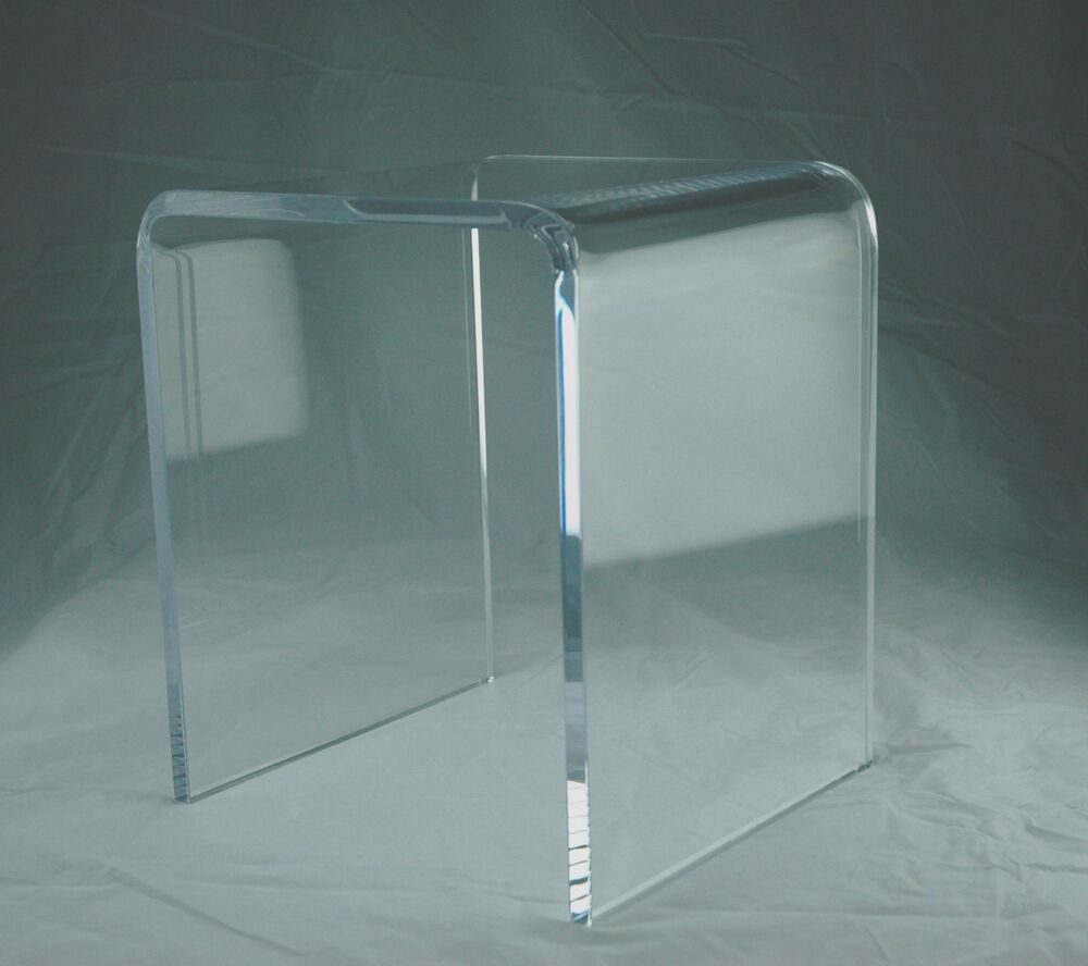 3 4 Quot Clear Acrylic Lucite Durable Shower Bench Ebay